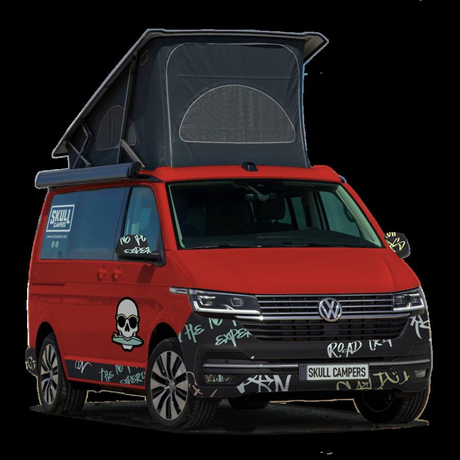 Rider - furgoneta de alquiler de Skull Campers - Volkswagen T6